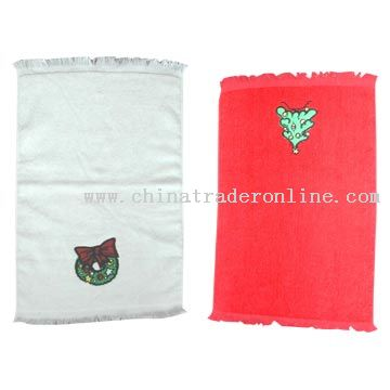Leftover Cloth Embroidered Tea Towels