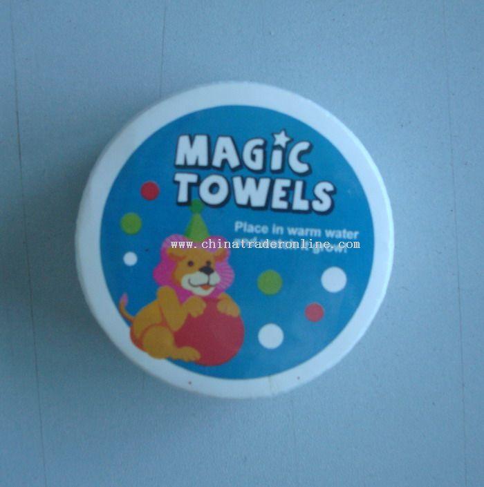 Magic Compress Towel