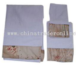 3pc Cotton Bath Towel Set