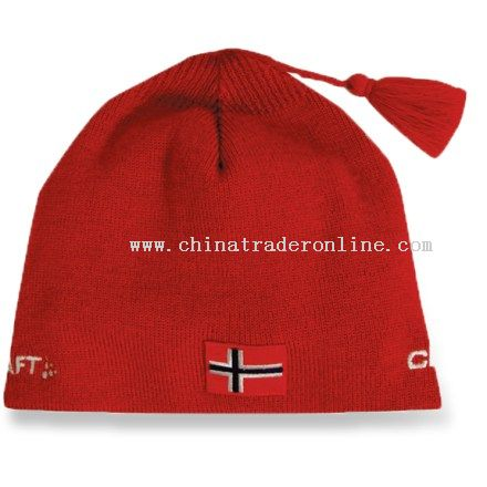 Celebrate Norway with the Craft Norway World Cup hat