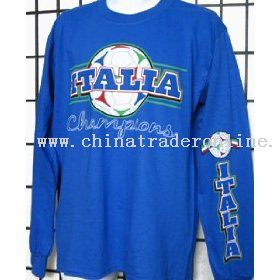 Italia Italy World Cup Champions Long Sleeve T-shirt