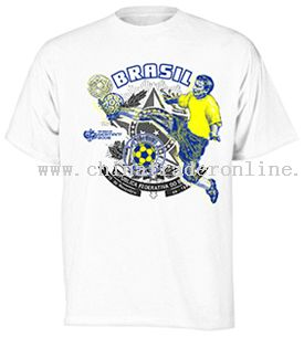 Russell Athletic Brazil World Cup 2006 Player T-Shirt