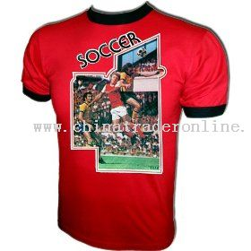 Vintage Soccer Football World Cup style Jersey iron-on t-shirt