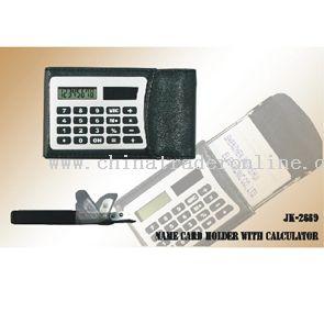 Name card hold Calculator