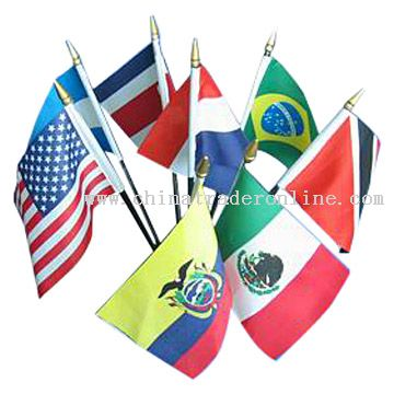2010 world cup Desk Flags