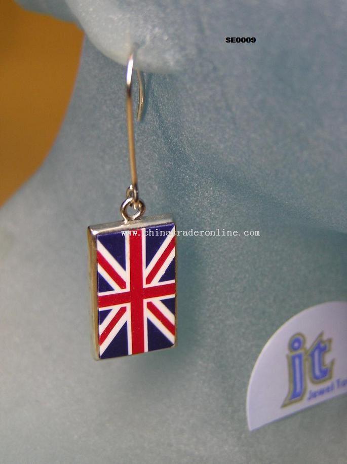 British Flag Earring
