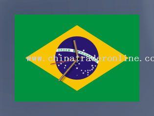 Flag Clock - World Cup 2010