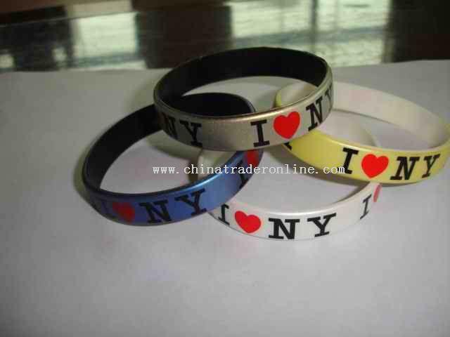 flag silicone bracelet