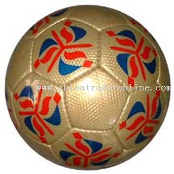 Half PU Handsewn Football from China