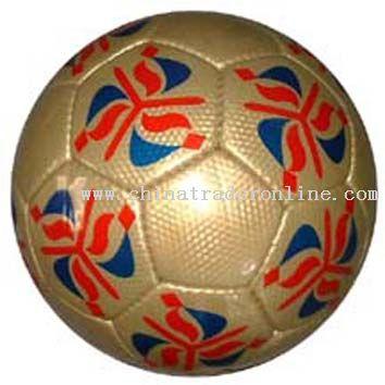 Half PU Handsewn Football