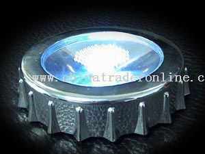 Lighting cup coaster