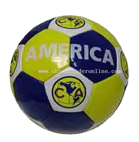 PVC Handsewn Football from China