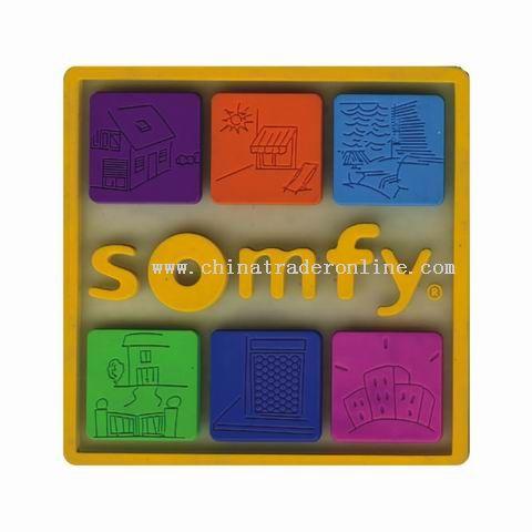 Soft PVC Coasters