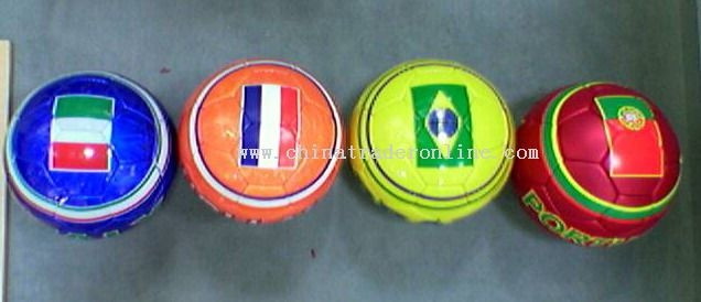 Promotional Flag Soccer Ball