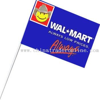 Promotional Paper Flag