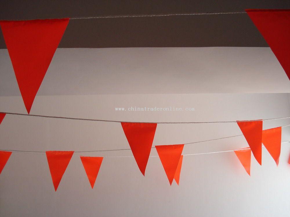 orange Pennant String