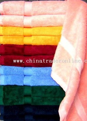 Combed Cotton Towels