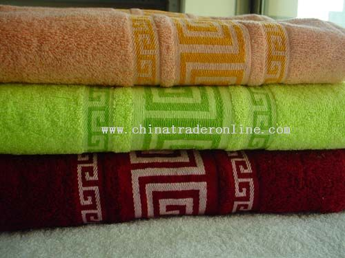 Dobby Bath Towels Set