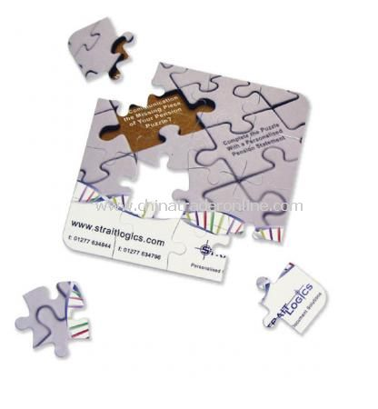 16 piece 3mm Puzzle Coasters