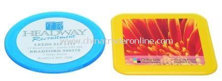 Bright Tinted Coloured Round or Square Spectrum Coaster