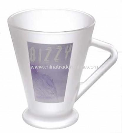 Frozen Sculpture Frosted Glass Mug from China