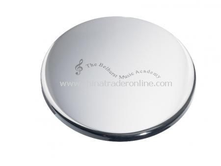 Silver Plated Coaster