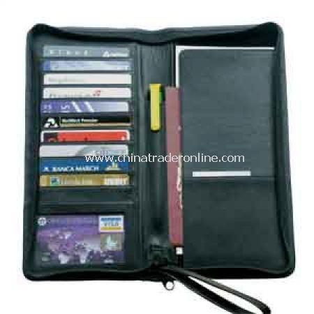 Zip Round Travel Wallet