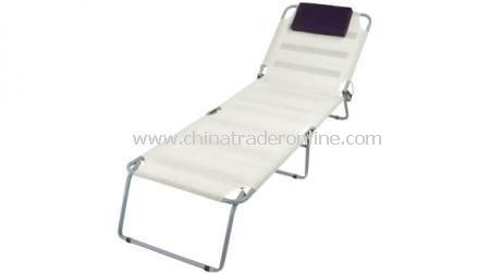 LOUNGING CHAIR  With attached pillow