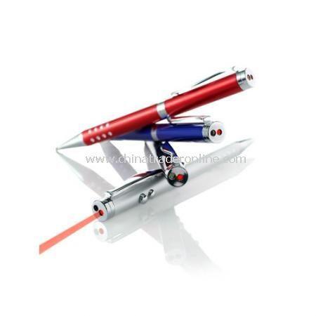 Ballpen with Laser Pointer & LED Light from China