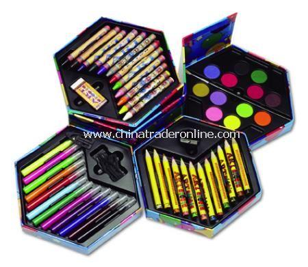 Paint/drawing box, 56pcs