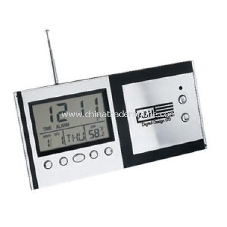 Desk Clock Scan Radio