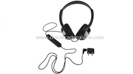 HEADPHONE IN POUCH Noise reduction headphones in pouch