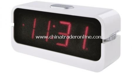 RADIO ALARM CLOCK Radio alarm clock with radio/buzzer wake up, snooze function, 12/24h func