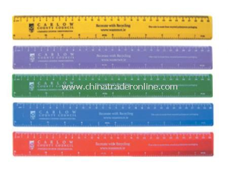 Recycled 12 inch / 30cm Rulers