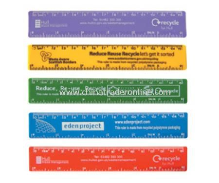 Recycled 6 inch / 15cm Rulers