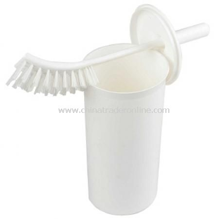 Recycled Plastic Toilet Brush and Holder