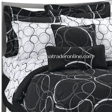 Bancroft Black Bedding Set