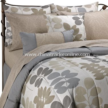 Mina Complete Bed Ensemble, 100% Cotton
