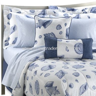 Seascape Complete Bed Ensemble, 100% Cotton