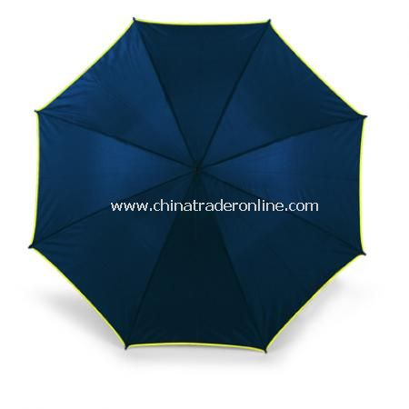 Umbrella with coloured trim