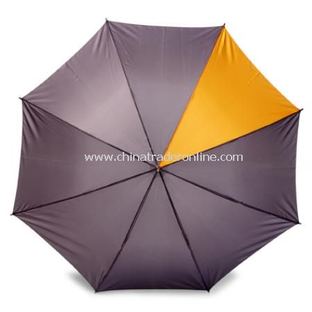 Umbrella with velcro fastening. (D)