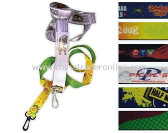 Recycled Full Color Lanyards