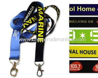 Recycled Standard Lanyards from China