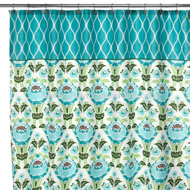 Amy Butler Coventry Fabric Shower Curtain from China