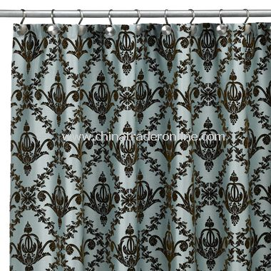 Bordeaux Shower Curtain by India Ink