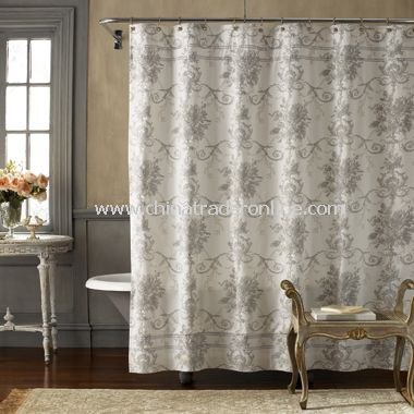 wholesale Brompton Fabric Shower Curtain-buy discount Brompton ...