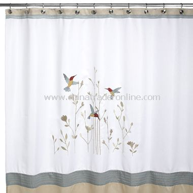 Attrayant Colibri Fabric Shower Curtain From China
