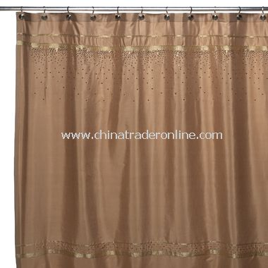 wholesale Croscill Glow Fabric Shower Curtain - Gold-buy discount ...