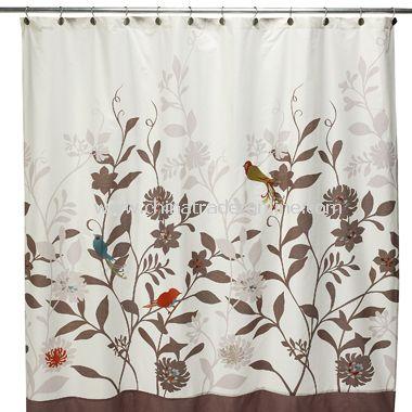 Daintree Fabric Shower Curtain
