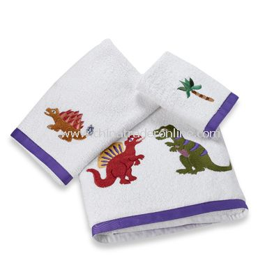 Dinosaur Friends Bath Towels